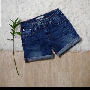BIG STAR Distressed Bermuda Shorts Size 29